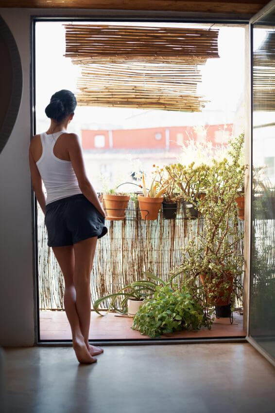 Balkon Garten Blumenkübel