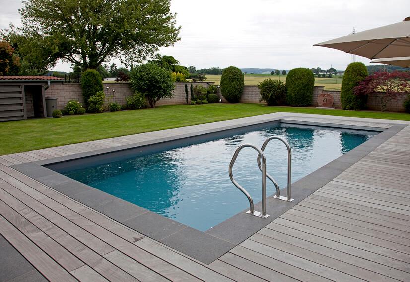 Poolbau und Schwimmbadbau vom Gartenbau Experten in Köln / Bonn